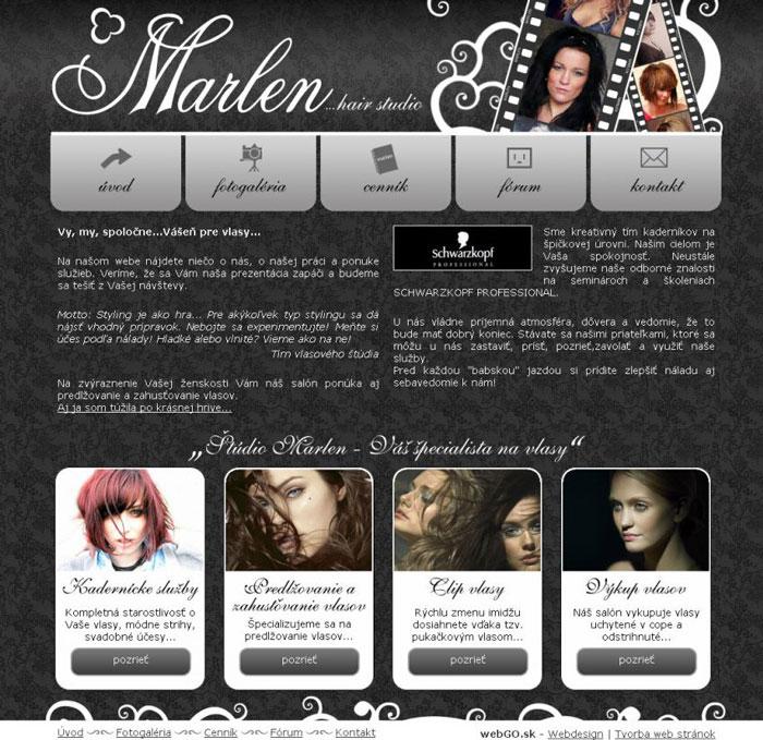 921a2a52b7b3 Marlen Vlasové štúdio - Tvorba web stránok