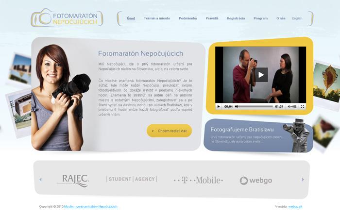 1fd0c303abc1 Fotomaratón Nepočujúcich - Tvorba web stránok