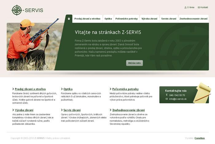 Z-SERVIS - Tvorba web stránok bace389b663